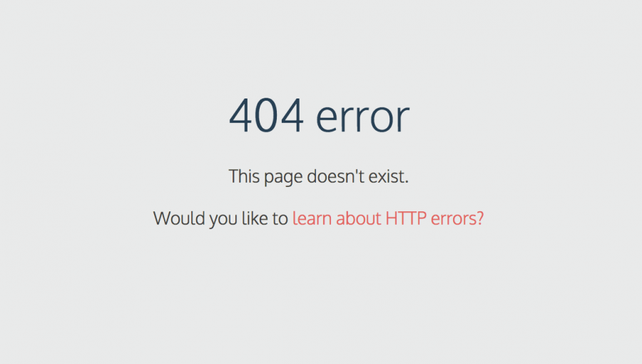 image depicting a 404 error web page